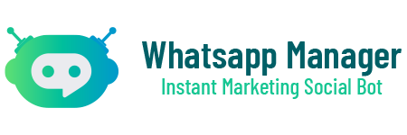 Whatsapp Manager Instant Marketing Social Tool